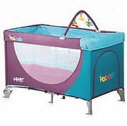 Новый манеж-кроватка Baby Design Holyday