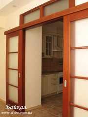 Элитные раздвижные межкомнатные двери