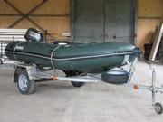 Лодка BRIG BALTIC с мотором,  на прицепе