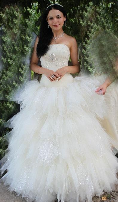 Продается эксклюзивное свадебное платье.  Следующее объявление.